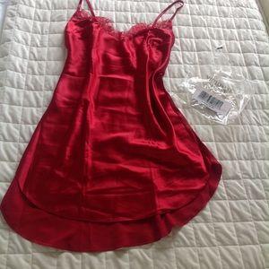 Victoria's Secret red slip